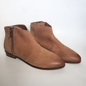 Aldo Allisson Flat Suede Leather Ankle Booties
